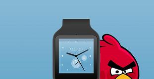 reloj de angry birds