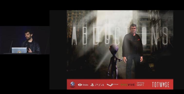 El juego The Hum Abductions estará disponible para Gear VR 2