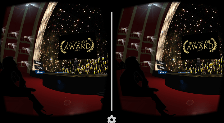 award simulator vr