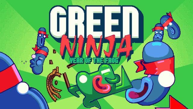 green ninja year of the frog
