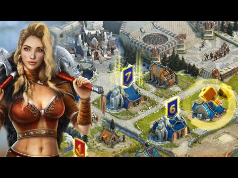 VIKINGS WAR OF CLANS - iOS / Android - Gameplay Trailer - YouTube