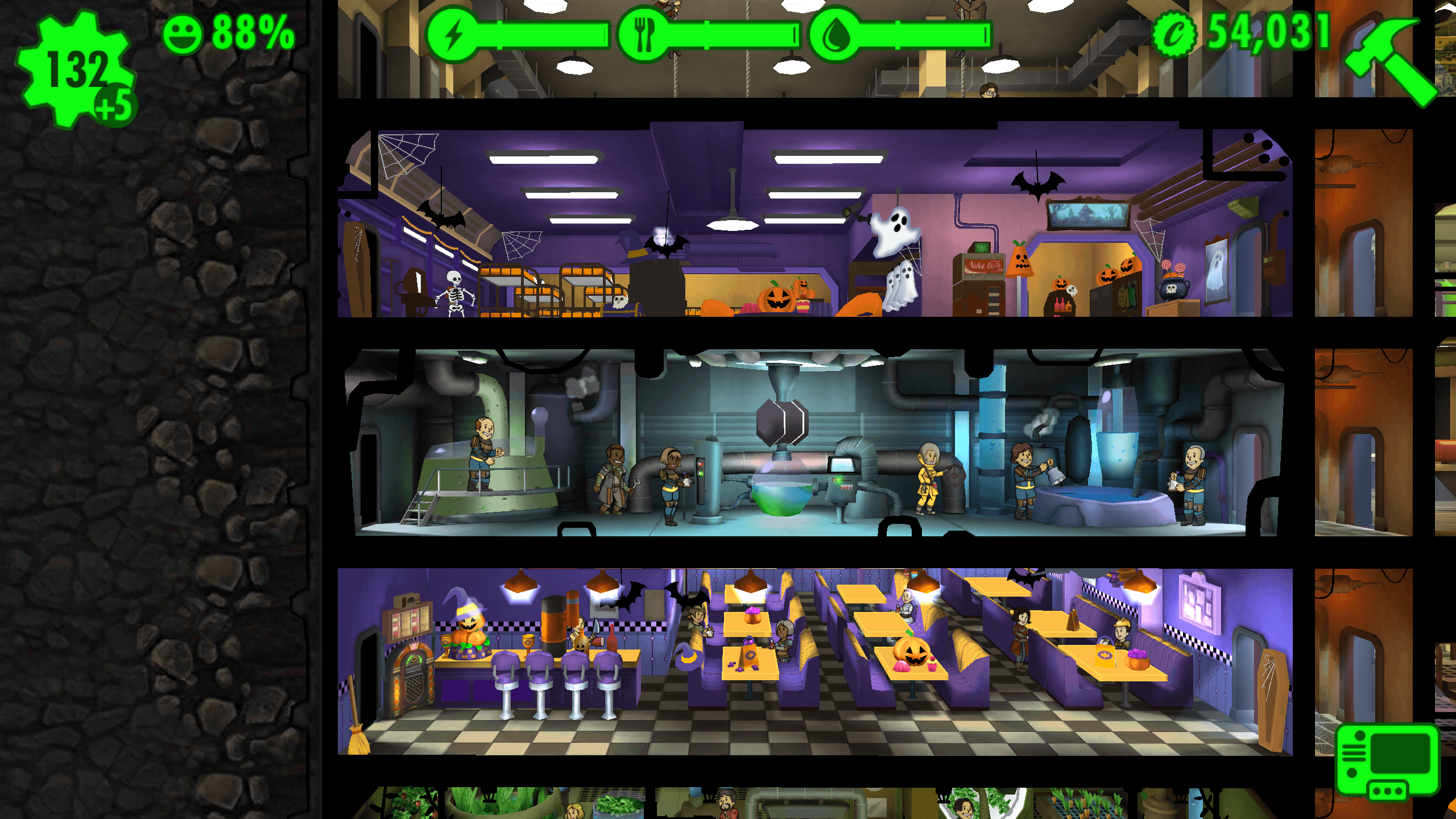 fallout shelter halloween 3