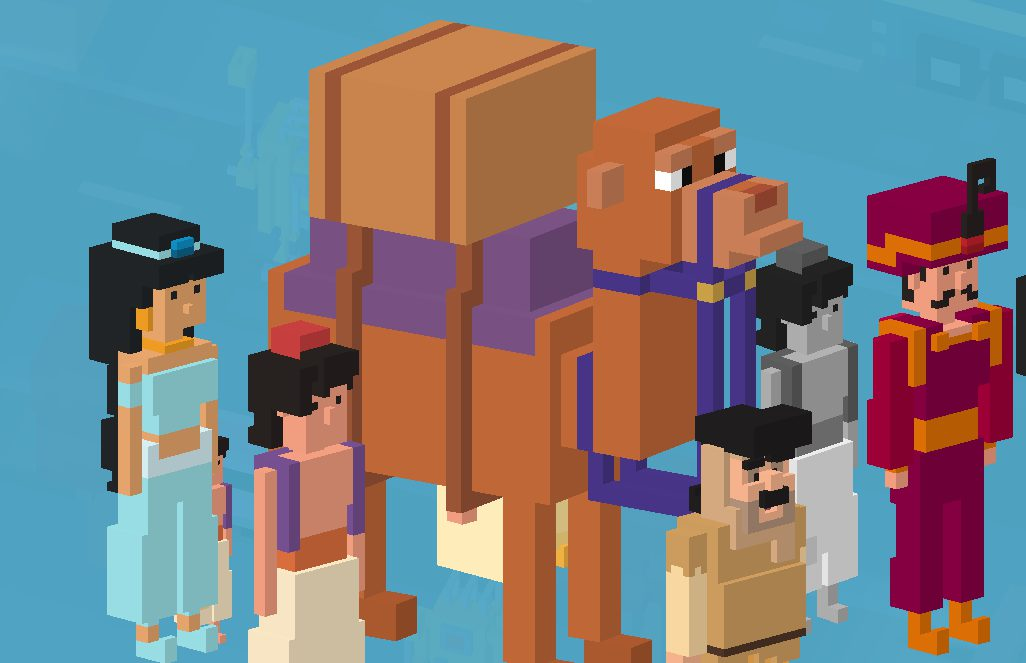 disney crossy road aladdin