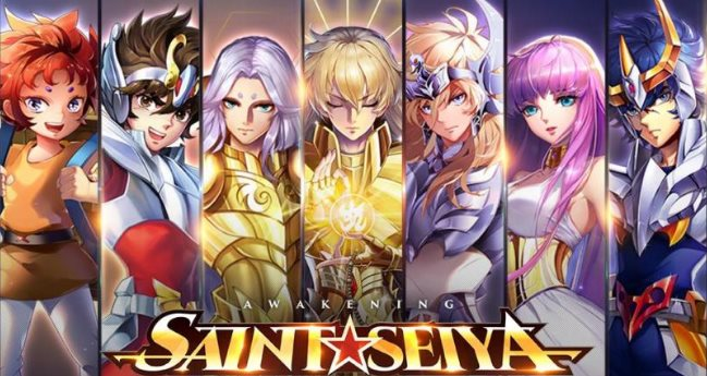 Mejores caballeros de Saint Seiya Awakening