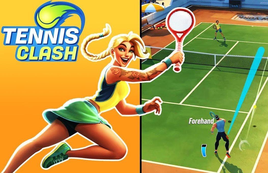 mejora de personajes en Tennis Clash