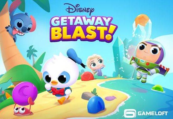 Trucos de Disney Getaway Blast