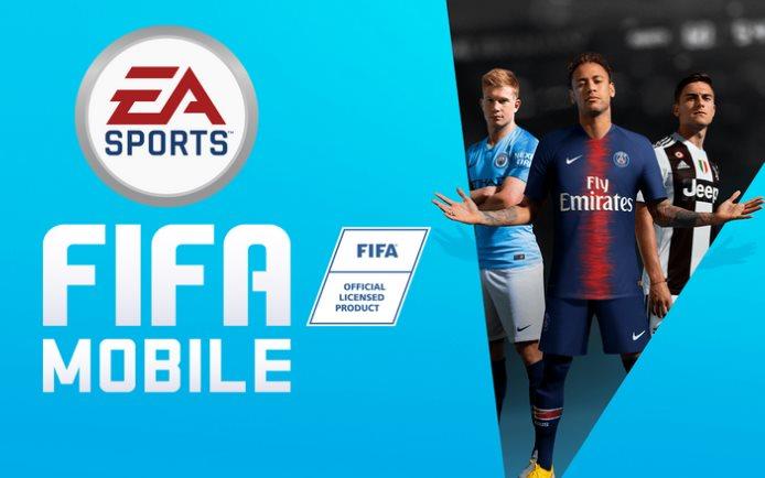 entrenamiento de FIFA Mobile 20