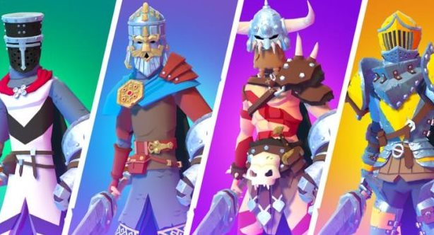 mejores héroes de Knighthood