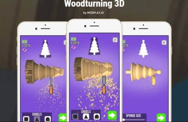 Trucos de Woodturning 3D