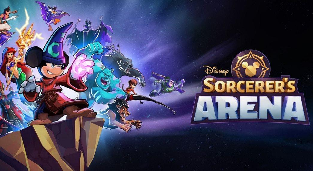 fichas de personajes en Disney Sorcerers Arena