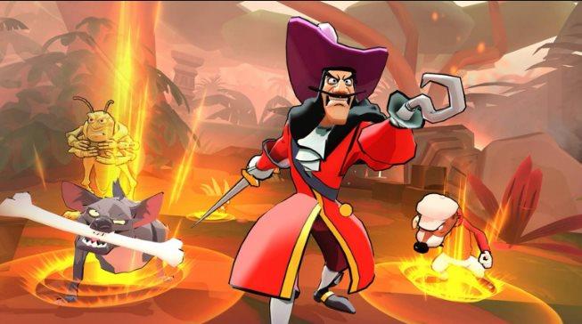 combate de Disney Sorcerers Arena
