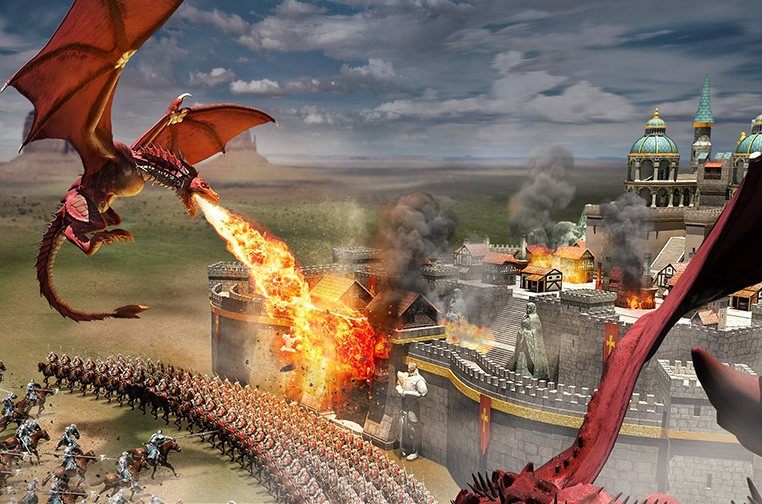 dragones de Rise of Empires