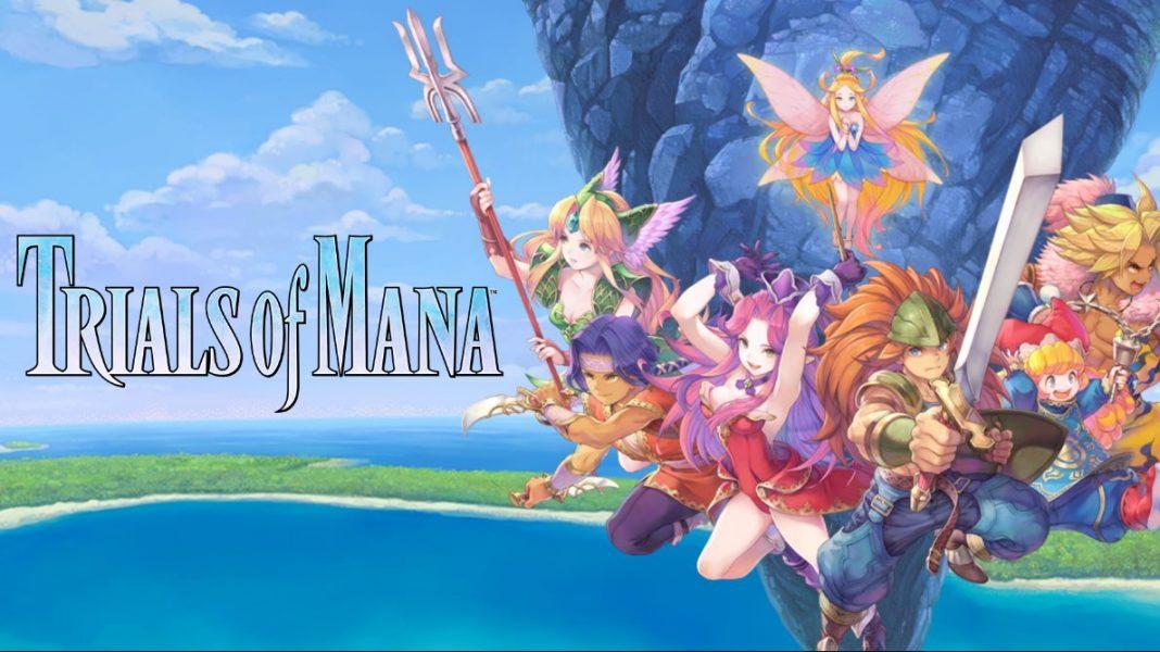 personajes de Trials of Mana