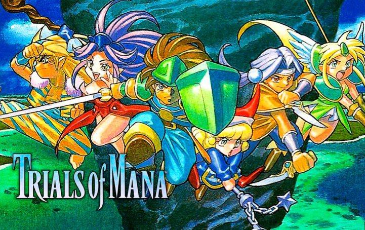 trofeos de Trials of Mana