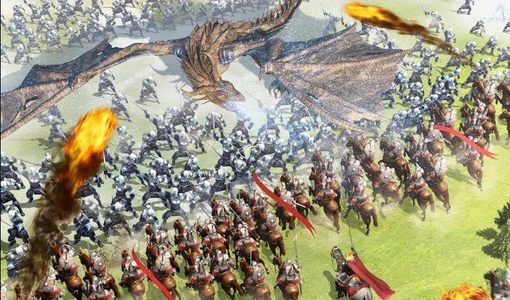 tropas en Rise of Empires