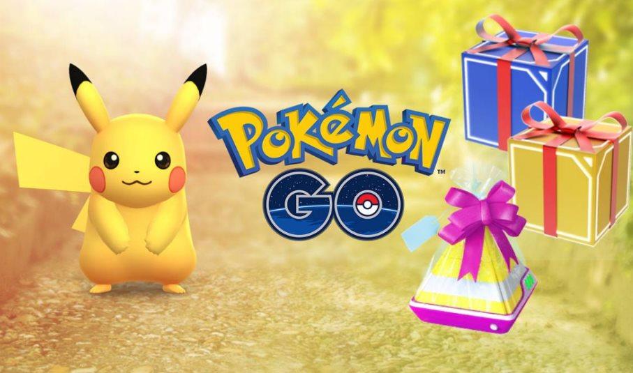 Promociones de Pokemon GO