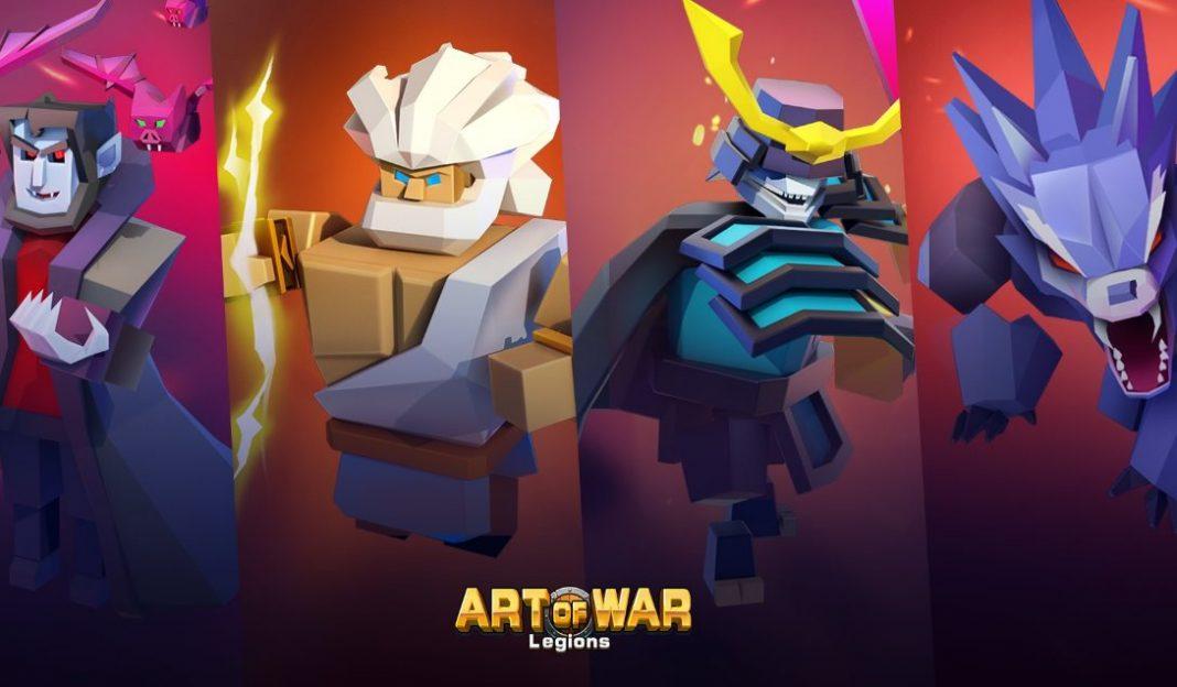 héroes de Art of War Legions