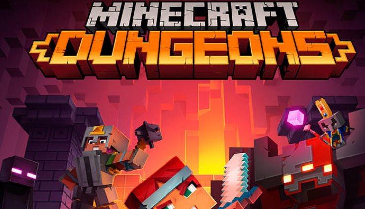 multijugador de Minecraft Dungeons