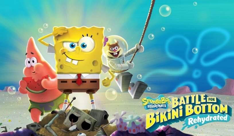 trofeos Bob Esponja Battle for Bikini Bottom Rehydrated
