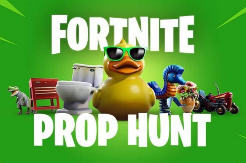 Mapas Prop Hunt Fortnite