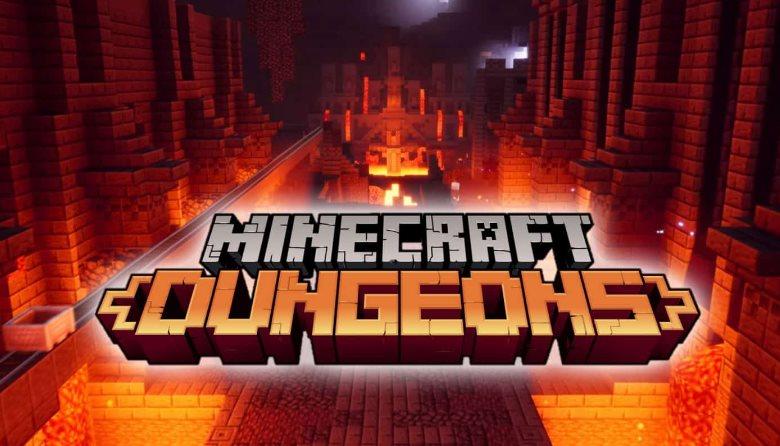 encantamientos cuerpo a cuerpo de Minecraft Dungeons