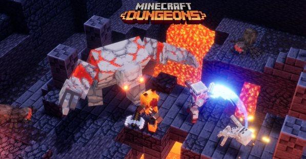 encantamientos de armadura de Minecraft Dungeons
