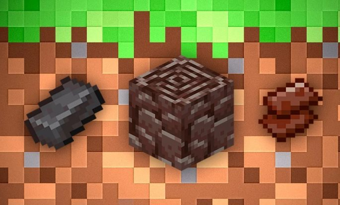 Netherite en Minecraft 1.16.1