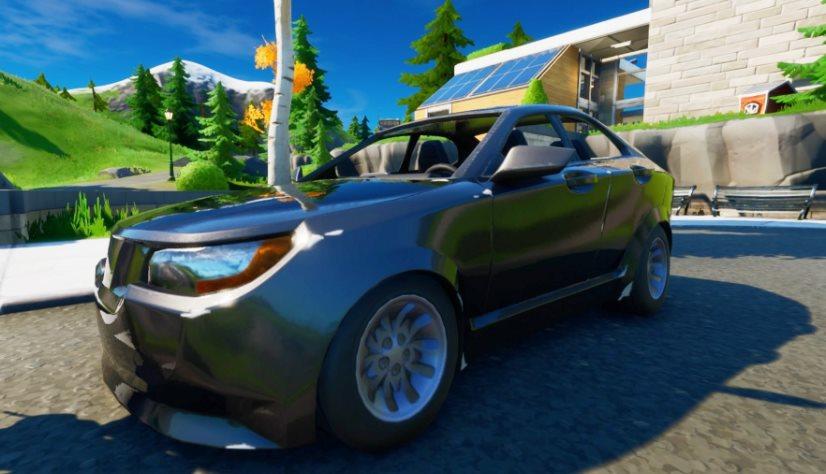 coches en Fortnite