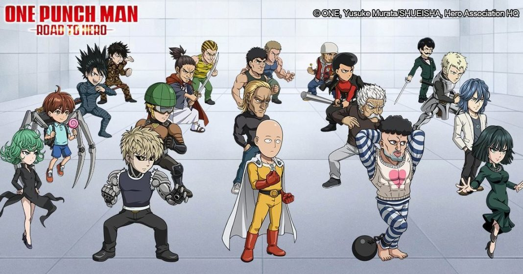 personajes de One Punch Man Road To Hero 2.0