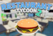 códigos de Roblox Restaurant Tycoon 2