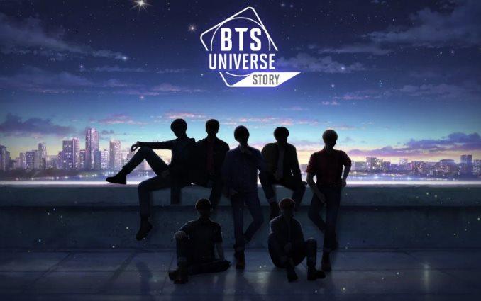 Códigos de BTS Universe Story