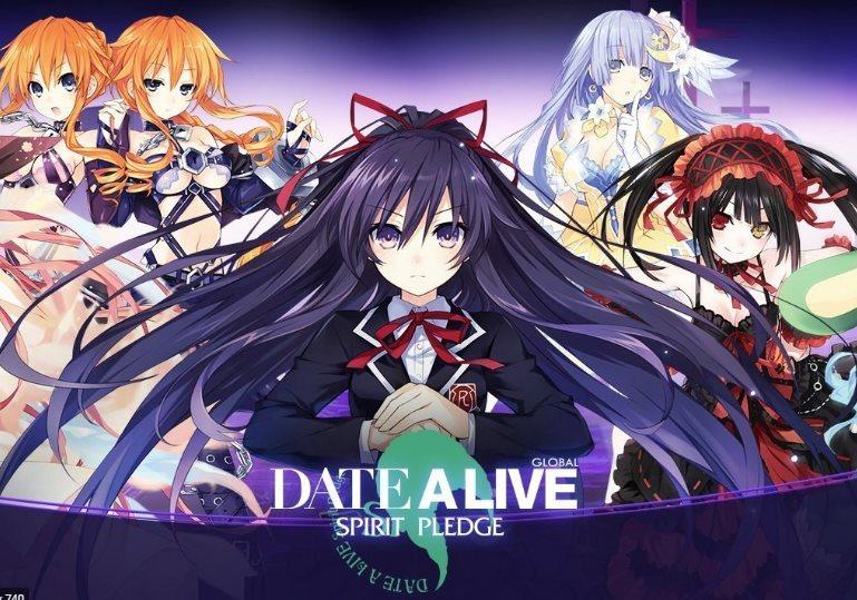 Mejores héroes de Date a Live Spirit Pledge