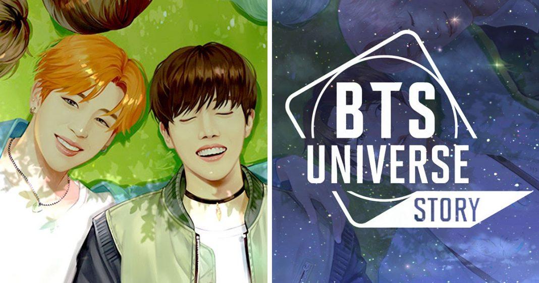 subir de nivel en BTS Universe Story