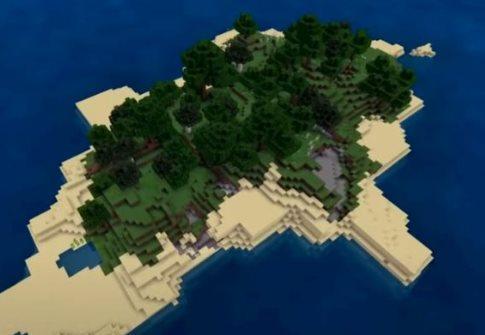 semillas de islas en Minecraft 1