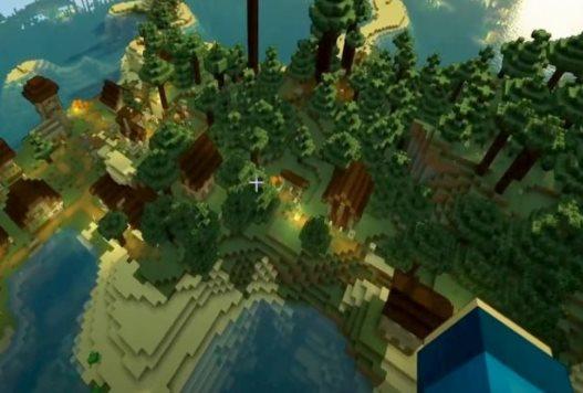 semillas de islas en Minecraft 3