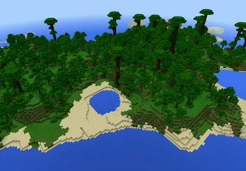 semillas de islas en Minecraft 4