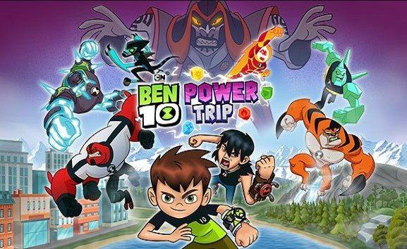 trofeos de Ben 10 Power Trip logros