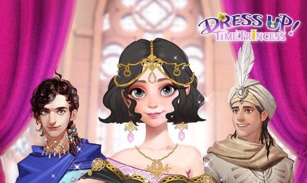 Astuces Dress Up Time Princess