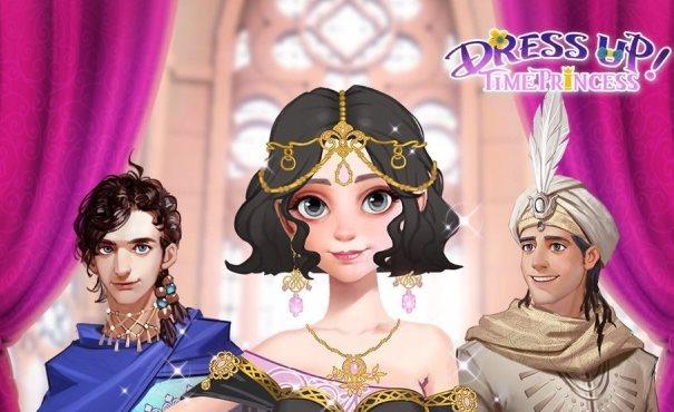 Trucchi Dress Up Time Princess