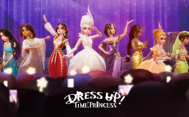 Dress Up Time Princess 코드 전체 목록