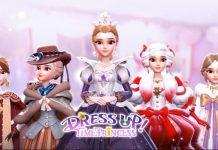 Reina Marie en Dress Up Time Princess