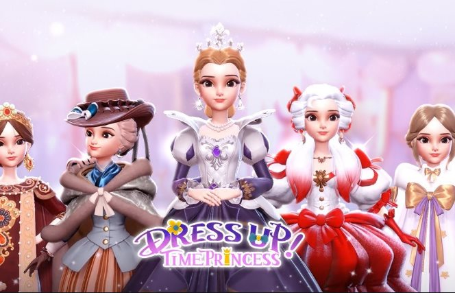 Romy et Julius dans Dress Up Time Princess
