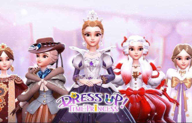 diseños en Dress Up Time Princess