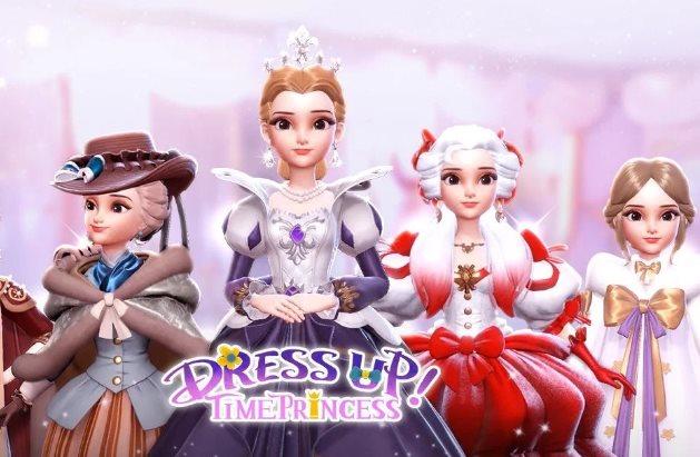 monete e diamanti in Dress Up Time Princess