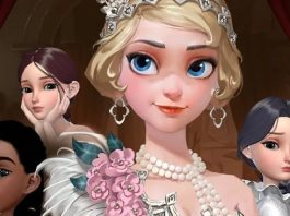 Guida a Shadows of London in Dress Up Time Princess