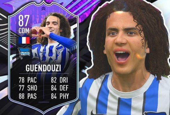Was-wäre-wenn-Herausforderung von Matteo Guendouzi in FIFA 21