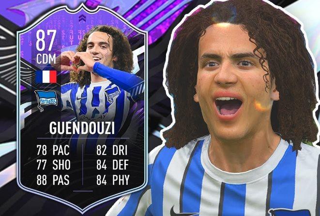 desafío What If de Matteo Guendouzi en FIFA 21