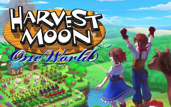 trofeos de Harvest Moon One World logros