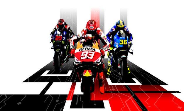trophées MotoGP 21 réalisations