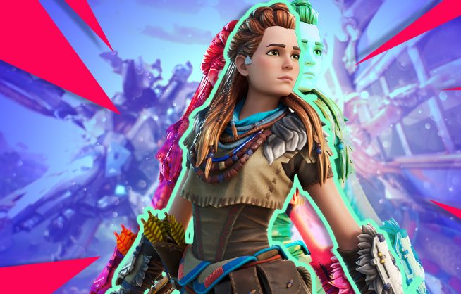 Aloy de Horizon Zero Dawn Fortnite
